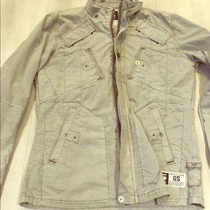 G Star Gray Field Jacket